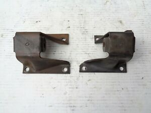 Original Gm 1958 1964 Impala 283 327 348 409 V8 Engine Mount Frame Brackets