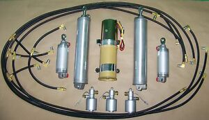 New 1963 Ford T bird Thunderbird Complete Convertible Hydraulic Kit Made In Usa