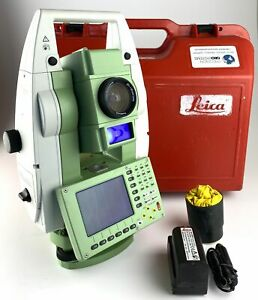Leica Tcp1201 1 Robotic Total Station W atr And Ps Reconditioned