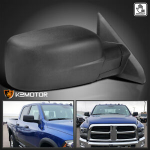 Fits 2009 2019 Dodge Ram 1500 Manual Fold Side View Mirror Passenger Right R