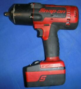 Snap on Tools Ct8850 1 2 Drive 18v Cordless Impact Wrench With Battery Ctb8185