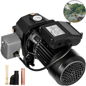 1 Hp Shallow Or Deep Well Jet Pump W Pressure Switch Homes Supply Water 183 7ft