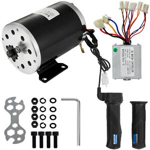 500w 36v Dc Scooter Electric 1020 Motor Kit W Base speed Control twist Throttle