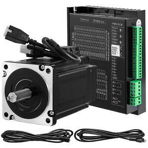 Closed Loop Stepper Motor Nema34 hybrid Servo Drive Kit 8 5nm Cnc