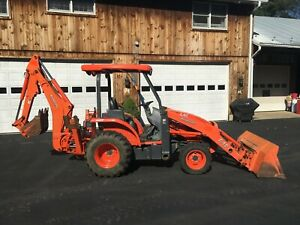 Kubota L45 Commercial Duty Tractor Loader Backhoe 2012 Model 1600 Hrs 4x4