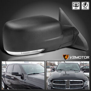 Right Passenger For 2009 2012 Dodge Ram 1500 Power Heated Led Signal Side Mirror