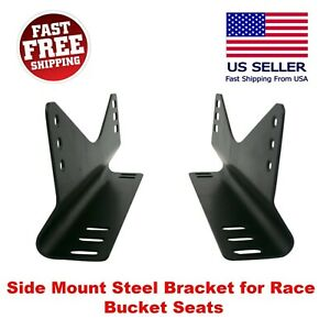 Invictus Universal Side Mount L Brackets Race Bucket Seat One Set For One Seat