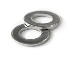 Us Inch Stainless Steel Flat Washers A2 18 8 2 4 6 8 10 1 4 5 16