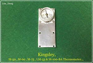 Kingsley Machine M 50 M 60 Thermometer Riser Hot Foil Stamping Machine
