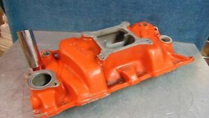 Weiand Intake Manifold Wcvsq Sbc 262 400 Say Why and Vintage Old School Gasser
