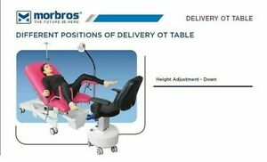 Electric Gynecological Obstetric Ot Table Operation Delivery Bed Table