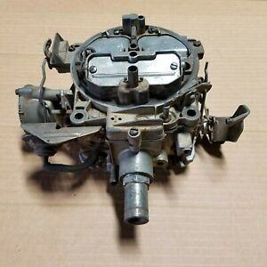 72 Olds Quadrajet Carburetor 7042250 1972 73 1973 Rochester Oldsmobile
