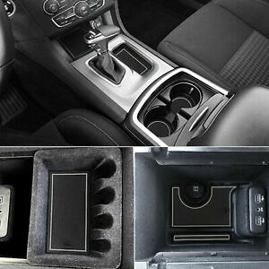 Liner Accessories For Dodge Charger 2015 2020 Cup Console Door Pocket Inserts
