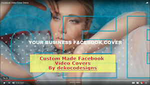 custom Made Full Hd Quality Facebook Page Cover Video For Your Brand Business
