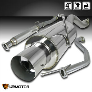 For 94 01 Acura Integra Gs rs ls Dc1 Dc2 Muffler Exhaust Catback System