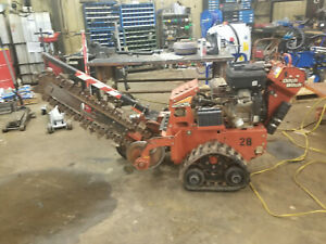 2015 Ditch Witch Rt16 Walk Behind Trencher