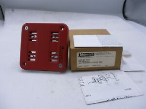 New Cerberus Pyrotronics Hn s Red Surface Fire Alarm Horn 21 30 Vdc