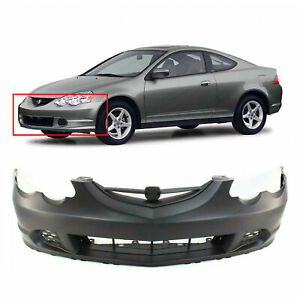 Primed Front Bumper Cover For 2002 2004 Acura Rsx 04711s6ma90zz Ac1000143