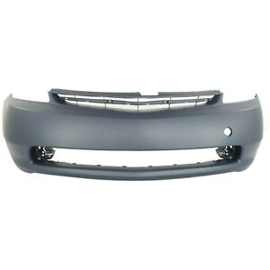 Primed Front Bumper Cover Fascia For 2004 2009 Toyota Prius 5211947903 To1000274