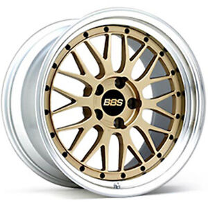 Bbs Japan Lm 18x10 0j Gold Set Of 4 For Nissan Skyline Gt r R33 34 From Japan