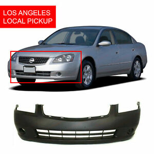Primed Front Bumper Cover For 2005 2006 Nissan Altima Ni1000219 62022zb000