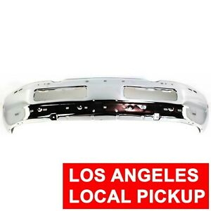 Front Bumper Cover For 1998 2002 Dodge Ram 1500 2500 3500 Chrome 55076599ae
