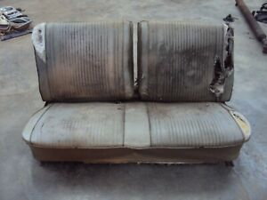 1966 1967 Pontiac Lemans Gto Chevelle 2 door Front Split Bench Seat Core