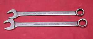 Matco Wcl18m2 Long 18mm Metric Combination Wrench Wcl19m2 Wrench Made In U S A