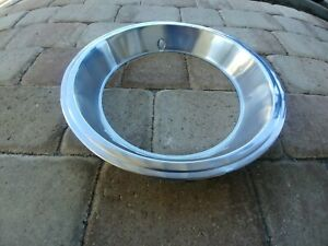 Chevy Oem Stainless Steel Trim Ring 1 Used For 14x7 Rally Wheels 1960 S 1970 S