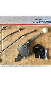 Hurst Competition Plus 4 Speed Shifter W Positive Stop Bolts Muncie Borg Warner