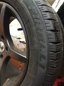 4 Pirelli Bmw Wheels And Tires 235 55 R17 With Wheels For Bmw X3 Suv