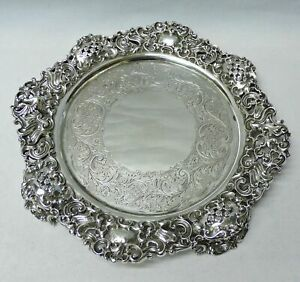 8535 Antique Silver Salvers By Paul Storr