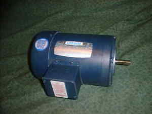 Leeson 3 Phase 48cz 1 2 Hp Electric Motor 1725 Rpm 31636 n3