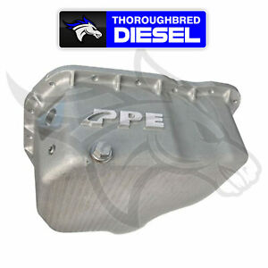 Ppe High Capacity Cast Aluminum Oil Pan raw For 11 16 Gm Lml Duramax