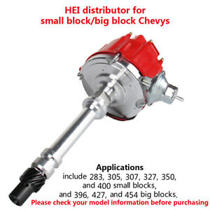 Hei Racing Distributor W Coil For Chevy V8 Small Big Block Sbc Bbc 305 350 454