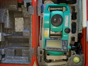 Sokkia Total Station Set 630 r 384t With Tool Kit And More