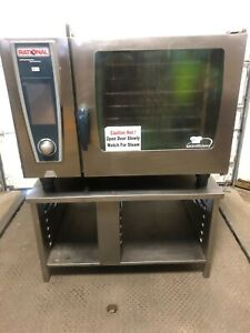 Rational Scc We 62 Electric Combi Oven W Stand Works Great