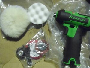 Snap On Ctpp761 14 4v Cordless Polisher Sander Tool W Accessories New