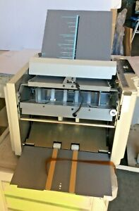 Duplo Df 520 Automatic Setting Paper Folding System