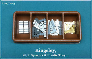 Kingsley Machine 18pt Spacers Plastic Tray Hot Foil Stamping Machine