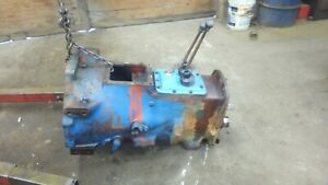 Ford 3600 Tractor Good Used 8 Speed Transmisson Complete W shifter