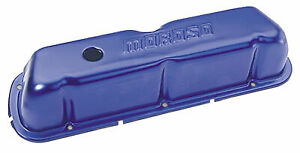 Moroso Blue Anodized Aluminum Valve Covers Ford Small Block Sbf 260 289 302 351w