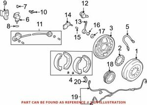 New Genuine Toyota Brake Proportioning Valve Bracket Oe 4793135100