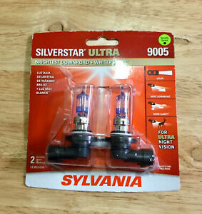 Genuine Sylvania Silverstar Ultra 9005 new Damaged Packaging Fast Free Shippng