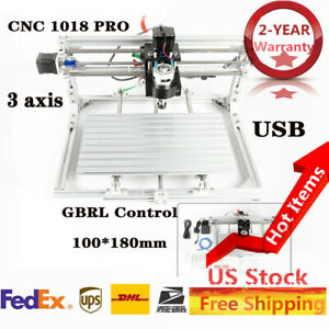 Cnc3018 Pro Diy Router Kit Cutter Engraving Milling Machine Grbl Control 3 Axis