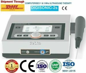 New Chiropractic Digisonic2s Ultrasound Therapy 1mhz 3mhz Relief Physiotherapy