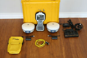 Trimble Dual R6 Model 4 Gps Gnss Glonass Galileo Rtk Survey Receiver Setup Tsc3