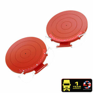 2x Commercial Truck Mechanical Bearing Turn Plates 4500kg Each