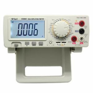 4 1 2 Digit Lcd Display True Rms Bench Type Digital Multimeter With Backlight