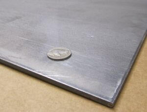 4130 Steel Sheet 160 Thick X 36 0 Wide X 36 Length Hot Rolled